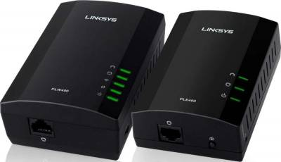 Linksys Powerline Wired and Wireless Network Expansion Kit | PLWK400