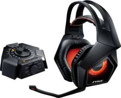 ASUS STRIX 7.1 gaming headset with 10 discrete neodymium-magnet drivers and a plug-and-play USB audio station | 90YH0091-M8UA00
