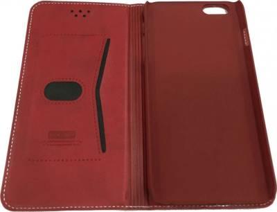 LEEU Design IPHONE 6 Plus Cover Leather Case | Red