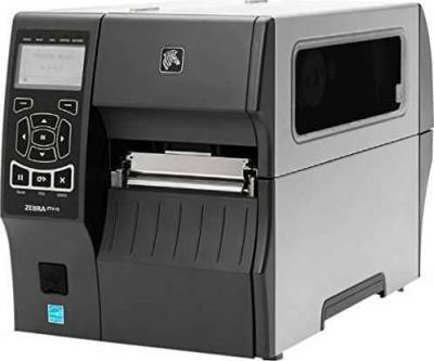Zebra Direct Thermal/Thermal Transfer Printer - Monochrome - Desktop - Label Print - 4.09 Print Width - 14 in/s Mono - 203 dpi - Bluetooth - USB - Serial - Ethernet - LCD | ZT410