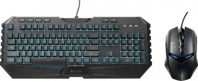 Cooler Master CM Storm Octane Multicolor LED Gaming Keyboard and Mouse Combo Bundle | SGB-3020-KKMF1-US