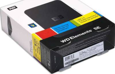WD Elements 2.5 Inch Hard Drive Enclosure Only (Hard drive not included)
