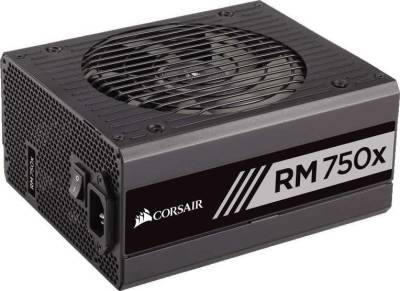 Corsair RMx Series 750 Watt 80 PLUS Gold Certified Fully Modular RM750x PSU | CP-9020092-UK