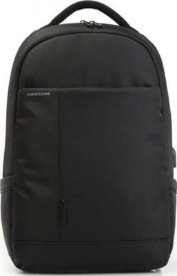 "Kingsons Charged Series 15.6"" Smart BackPack with USB Port (Black) 