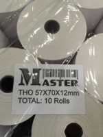Master Receipt Paper Roll (57x70x12mm)