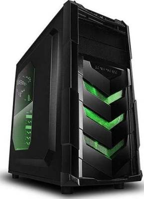 Raidmax Vortex V4 SERIES ATX Computer Case (Green) | 404WB
