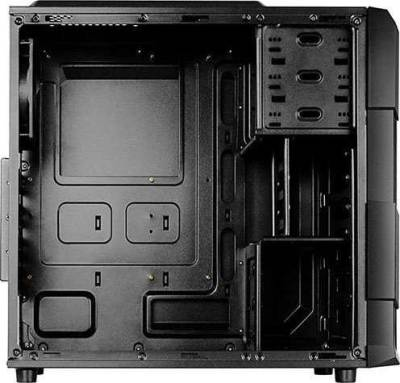 Raidmax Vortex V4 SERIES ATX Computer Case Black/Red | 404WBR