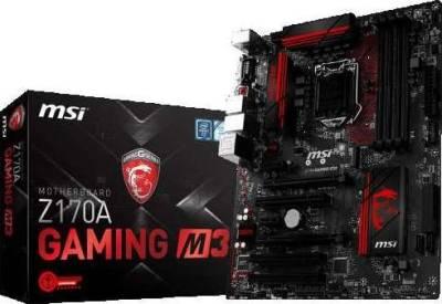 MSI Z170A GAMING M3 (Intel 6th Generation Socket LGA 1151, DDR4) | 911-7978-022