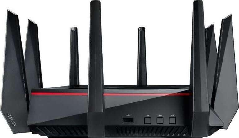 ASUS RT-AC5300 Tri-Band 4x4 AC5300 Wireless 4-port Gigabit Gaming ...