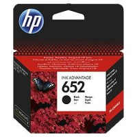HP 652 Black Original Ink Advantage Cartridge | F6V25AE