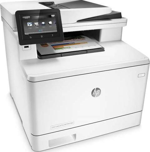 HP MFP M477fdn Color LaserJet Pro Multifunction Printers ...