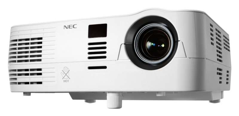 Nec ve281g pc 3d ready dlp portable projector 60003620 for Handheld projector best buy