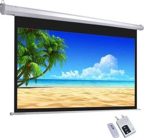Star electric projector screen 170 x 130 cms 84 inch for 130 inch motorized projector screen