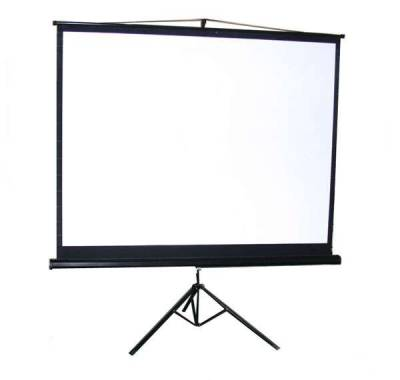 STAR Tripod Screen Projector 200 x 200 cm (112 inch Diagonal)