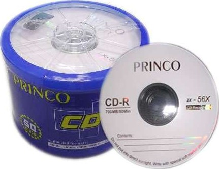 Princo Blank Cd R 80min 700mb 2x 56x 50 Pcs Buy Best