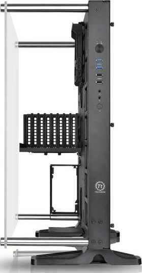 Thermaltake CORE P5 ATX Open Frame Mid Tower Wall Mount 180 Degree ...