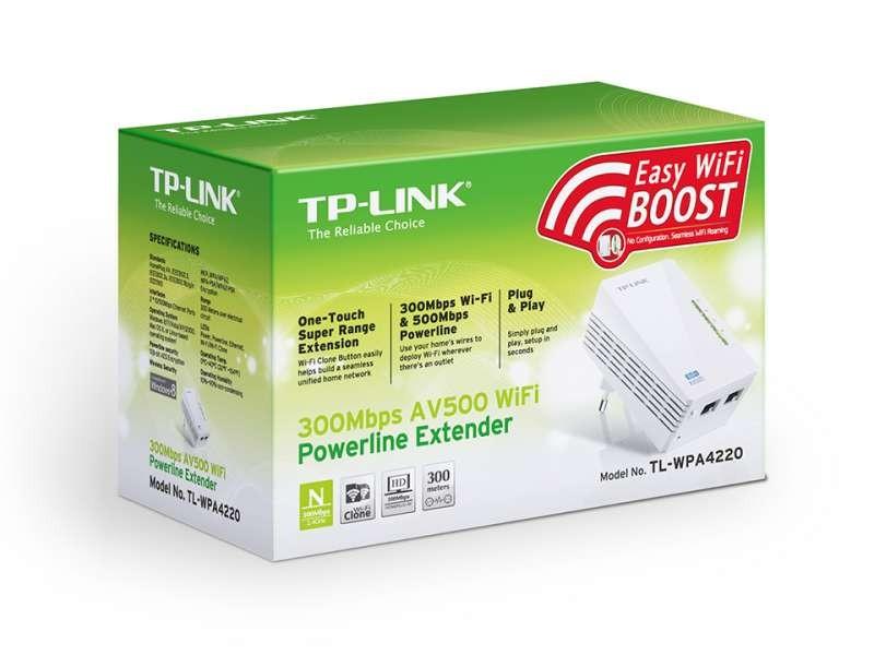 Tp Link 300mbps Av500 Wi Fi Powerline Extender Tl