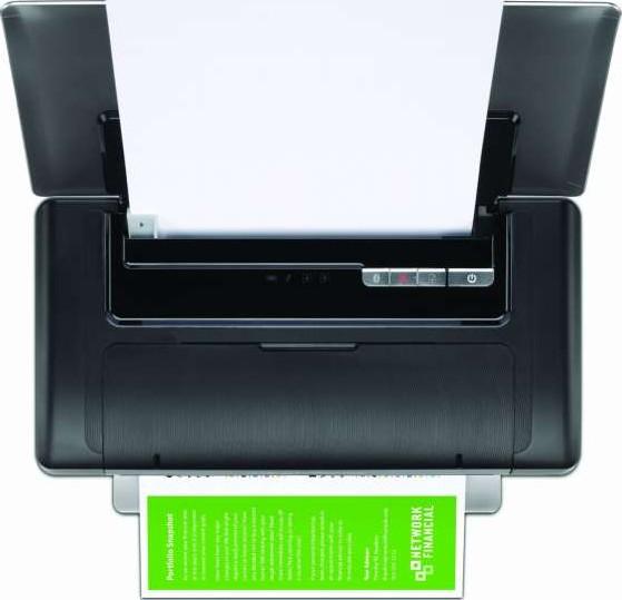 Hp 100 Color Officejet Mobile Portable Printer Cn551a