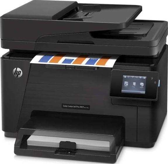 Hp M177fw Color Laser Jet Pro 100 Multi Function Printer