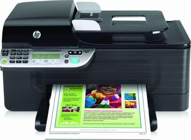 Hp officejet 4500 wireless all in one printer cn547a buy for Best home office hp printer