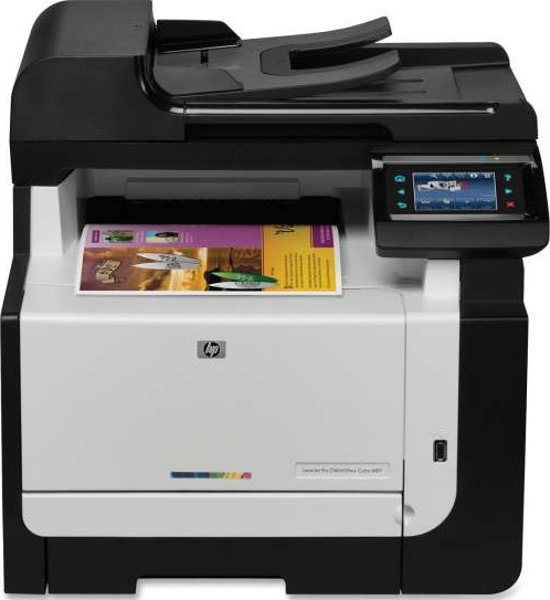 hp laserjet pro cm1415fn color multifunction printer. Black Bedroom Furniture Sets. Home Design Ideas