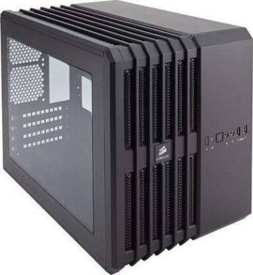 Corsair Carbide Air 240 Black High Airflow MicroATX and Mini-ITX PC Case | CC-9011070-WW