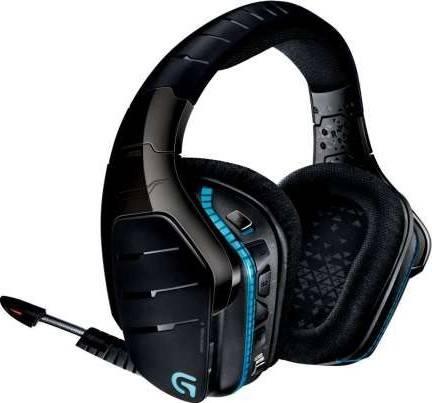 Logitech G933 Artemis Spectrum Wireless 7.1 Surround Pro Gaming Headset (Black) | 981-000599 / 981-000585