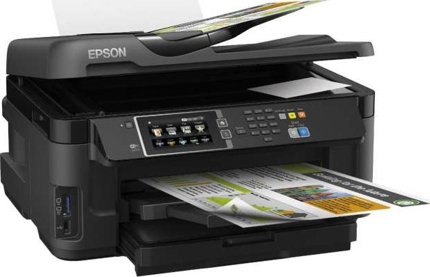 epson workforce wf 7610dwf a3 duplex business printer with wi fi ethernet and a3 double sided. Black Bedroom Furniture Sets. Home Design Ideas