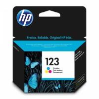 HP 123 Tri-color Original Ink Cartridge | F6V16AE