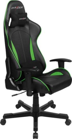 Dxracer Formula Series Gaming Chair Black Green Oh