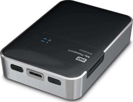 WD 1TB My Passport Wireless Portable External Hard Drive - WIFI USB 3.0 | WDBK8Z0010BBK-  sc 1 st  Microless & WD 1TB My Passport Wireless Portable External Hard Drive - WIFI USB ...