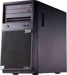 IBM Server X-3100 M5 – Tower  Intel Quad Core Intel® Xeon® E3-1220V3 (4 core, 3.10 GHz, 8MB, 69W)