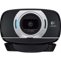 Logitech HD Laptop Webcam C615 with Fold-and-Go Design, 360-Degree Swivel, 1080p Camera | 960-001056