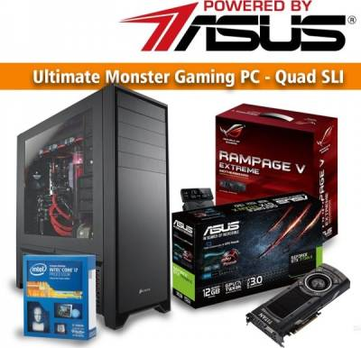 Ultimate Monster Gaming PC - Quad SLI PBA