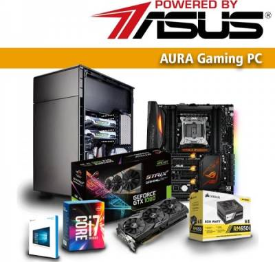 Aura Gaming PC powered by ASUS STRIX Nvidia 1080 PBA