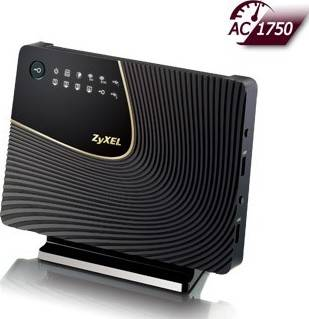 ZyXEL Simultaneous Dual-Band Wireless AC1750 HD Media Router | NBG6716