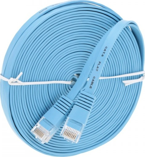 Kongda 10 Meter Ethernet Cable Patch Cable Cat 6 Flat