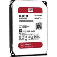 WD Red 8TB NAS Hard Disk Drive 5400 RPM Class SATA 6 Gb/s 128MB Cache 3.5 Inch | WD80EFZX-68UW8N0