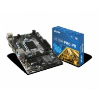MSI H110M Pro-VD LGA 1151 Intel H110 SATA 6Gb/s USB 3.1 Micro ATX Intel Motherboard | H110M PRO-VD