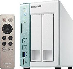 Qnap TS-251A 2-bay TS-251A personal cloud NAS/DAS with USB direct access, HDMI local display | TS-251A-2G-US