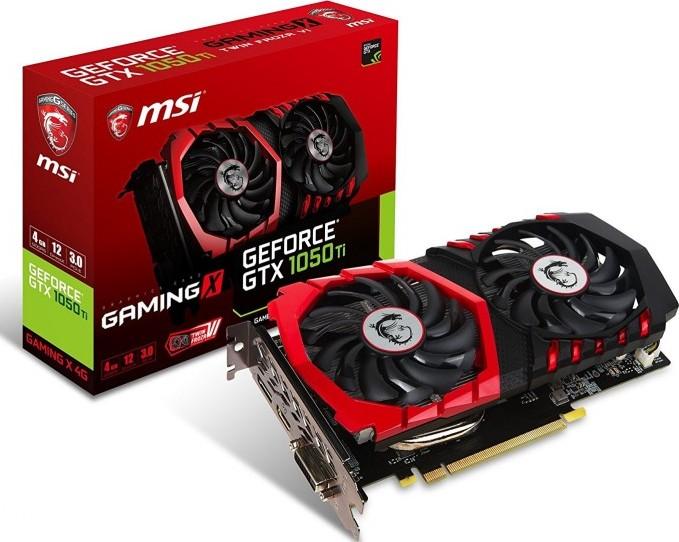 Msi Geforce Gtx 1050 Ti Gaming X 4g 4gb Gddr5 128 Bit