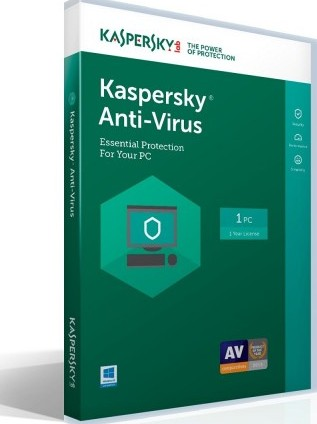 Kaspersky Lab Anti Virus 2018 1 Device 1 Year Key