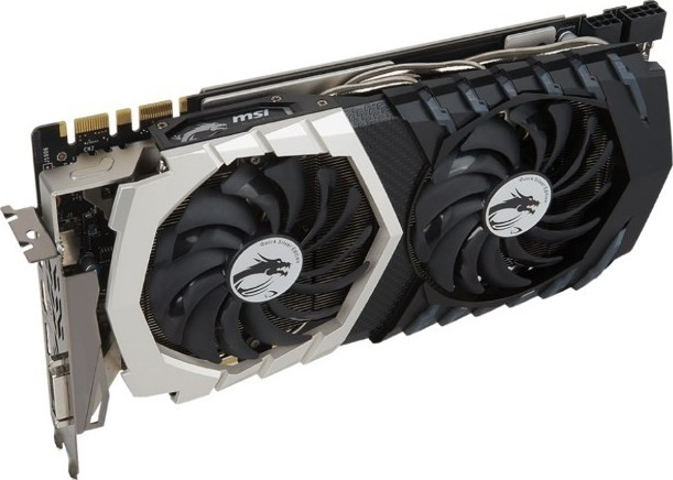 Msi Nvidia Geforce Gtx 1070 Graphics Card Quick Silver