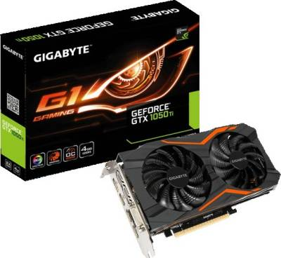 Gigabyte Geforce GTX 1050 Ti 4GB G1 GAMING Graphic Card (GV-N105TG1GAMING-4GD)