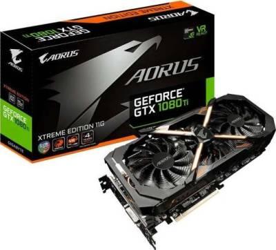 Gigabyte AORUS GeForce GTX 1080 Ti Xtreme Edition GDDR 5X 11GB Graphic Cards | GV-N108TAORUS X-11GD