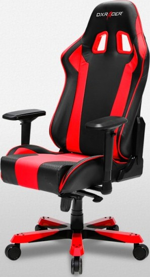 Dxracer King Series Gaming Chair Black Red Oh Ks06 Nr