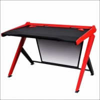 DXRacer Gaming Desk Black / Red | GD/1000/NR