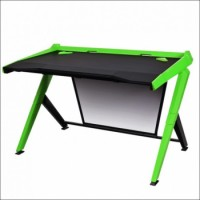 DXRacer Gaming Desk Black / Green | GD/1000/NE