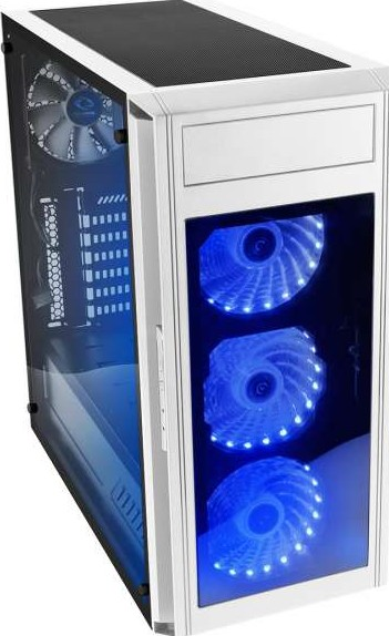Raidmax Alpha Prime Rgb Mid Tower Window Computer Case