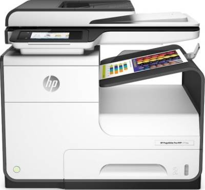 HP PageWide Pro 477dw Color All-in-One Business Printer with wireless & 2-sided duplex printing | D3Q20A